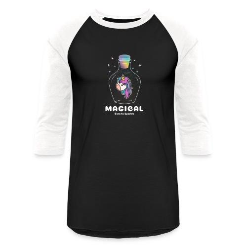 magical bottle design - Unisex Baseball T-Shirt
