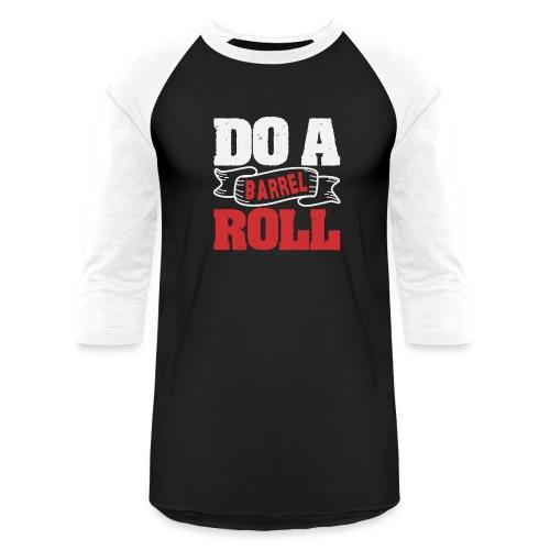 Do a barrel roll - Unisex Baseball T-Shirt