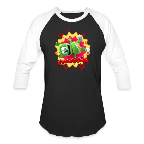 Gummibär Starburst - Baseball T-Shirt