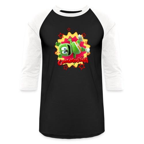 Gummibär Starburst - Unisex Baseball T-Shirt