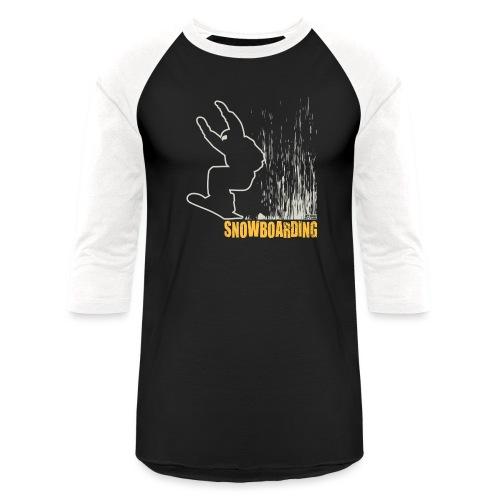 Snowboarder Snowboarding - Baseball T-Shirt