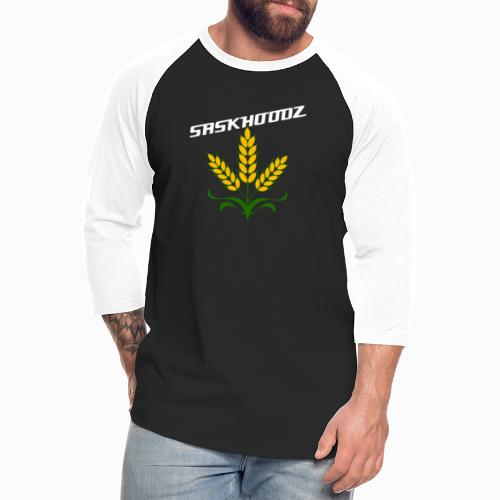 saskhoodz wheat - Unisex Baseball T-Shirt
