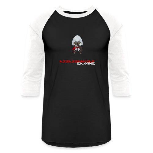 heather gray assassinwolf Tee - Baseball T-Shirt