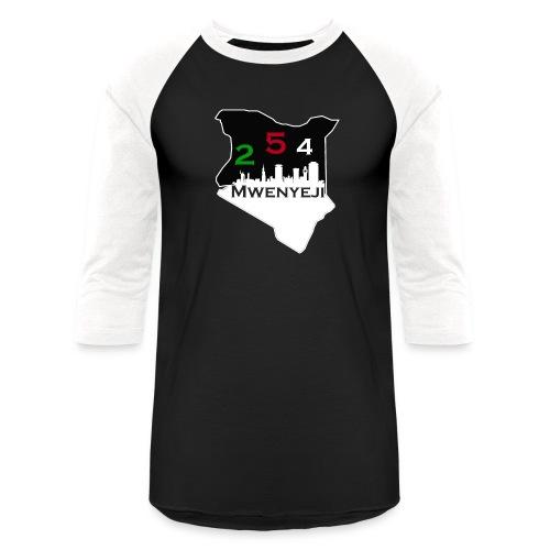 Mwenyeji Wa Kenya - Baseball T-Shirt