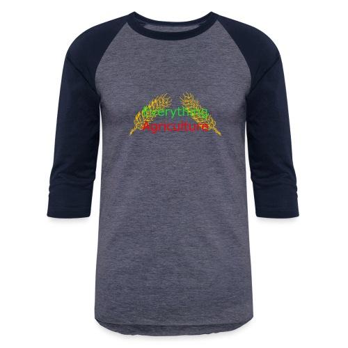 Everything Agriculture LOGO - Baseball T-Shirt