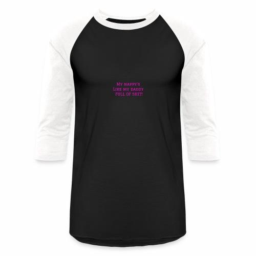 FULL OF SH*T - Baseball T-Shirt