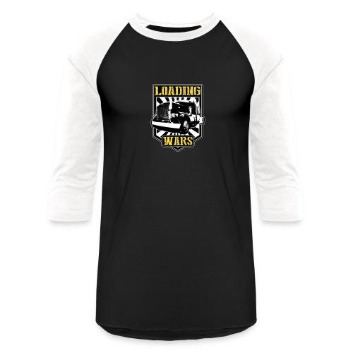Loading Wars Logo - Unisex Baseball T-Shirt