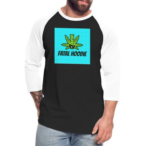 Fatal Hoodie logo hoodie - Unisex Baseball T-Shirt