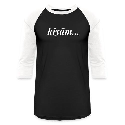 Kiyam - Unisex Baseball T-Shirt