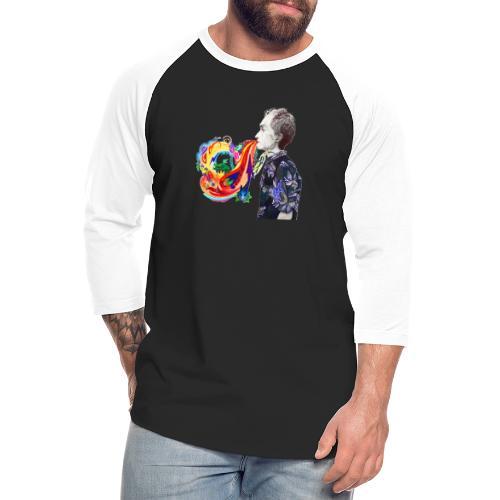 Breathe Cover Art - Unisex Baseball T-Shirt
