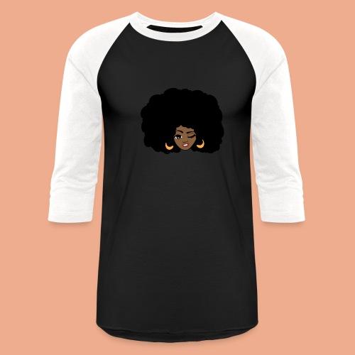 Afro Queen - Baseball T-Shirt