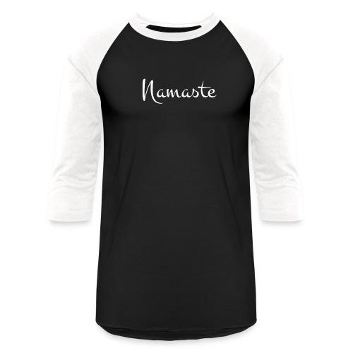 Namaste Design - Unisex Baseball T-Shirt