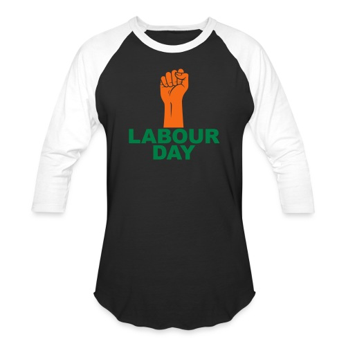 Labour day / Fist / 2c - Unisex Baseball T-Shirt