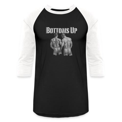 bottoms up - Baseball T-Shirt