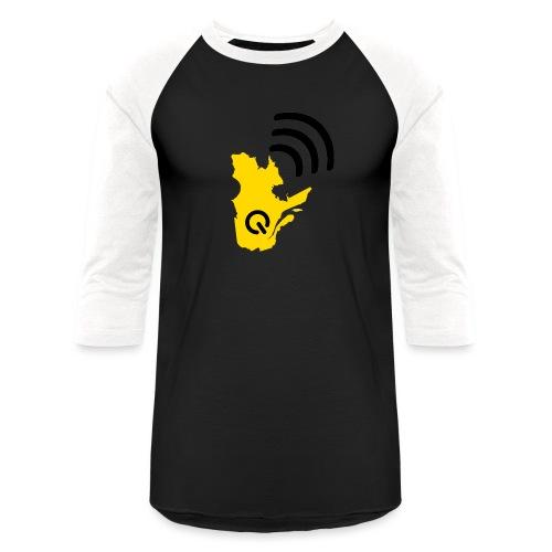 Radio-Québec - T-shirt de baseball unisexe