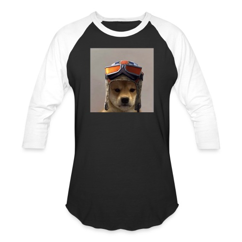 Renegade Doggo - Unisex Baseball T-Shirt