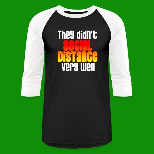 Social Distance Pregnancy - Unisex Baseball T-Shirt