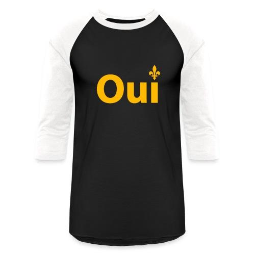 OUI Québec - Baseball T-Shirt
