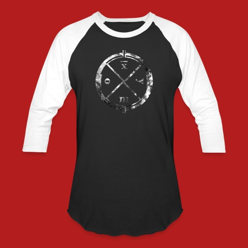 Logo Clan Of Xymox - Unisex Baseball T-Shirt