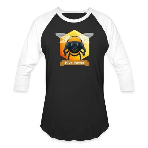 Hive Power - Unisex Baseball T-Shirt