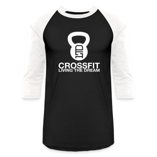 CROSSFIT OG LOGO - WHITE - Unisex Baseball T-Shirt