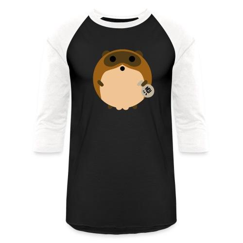 tanuki - Unisex Baseball T-Shirt