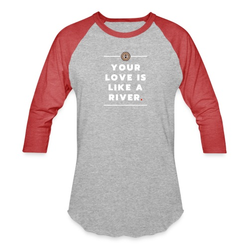 Your Love - White - Baseball T-Shirt