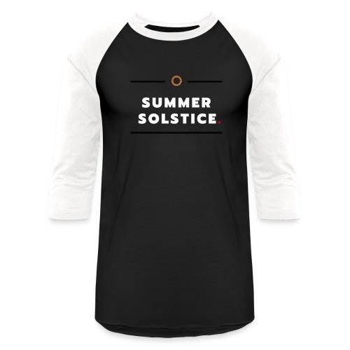 Summer - Unisex Baseball T-Shirt