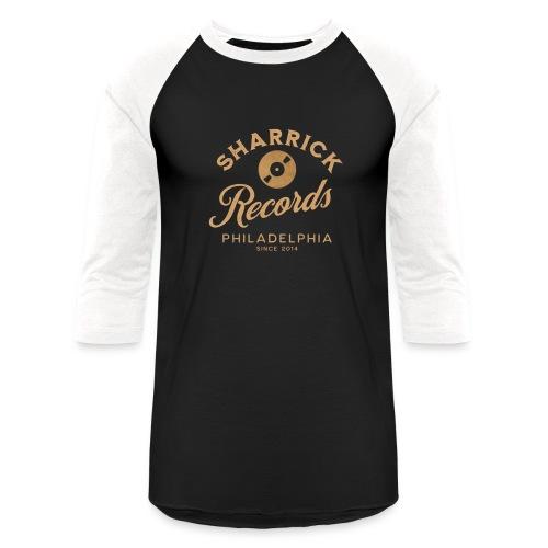 Sharrick Records Official Logo - Unisex Baseball T-Shirt