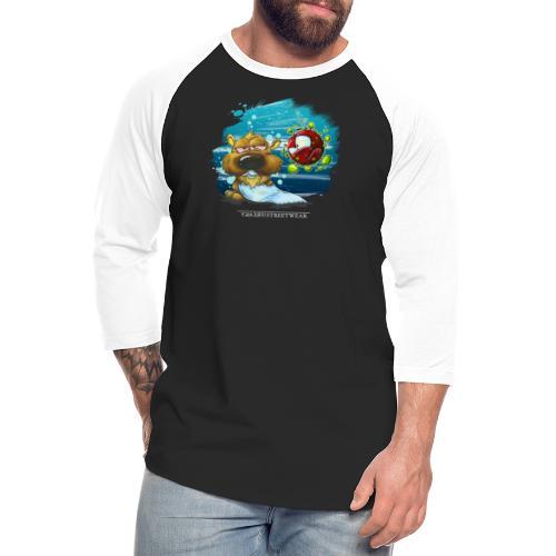 the tragic of life - Unisex Baseball T-Shirt