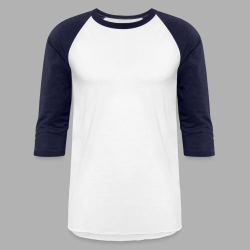 All Saints Logo White - Baseball T-Shirt