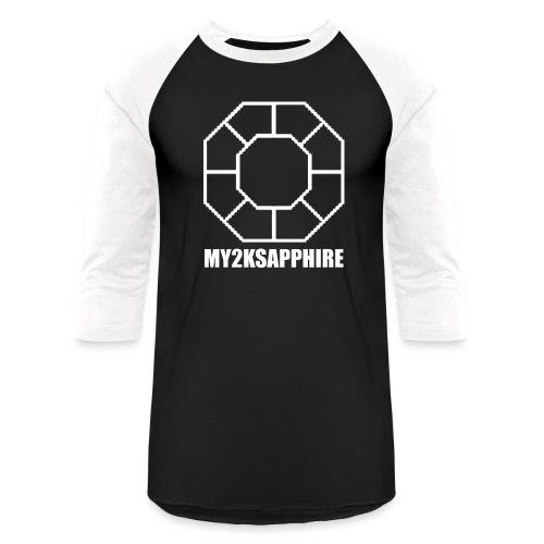 Unisex White Sapphire Hoodie - Baseball T-Shirt