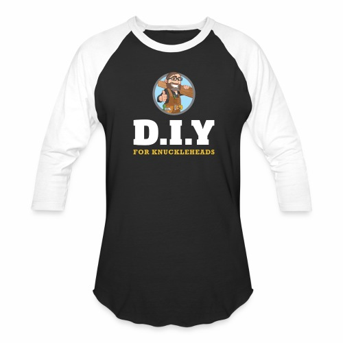DIY For Knuckleheads Logo. - Baseball T-Shirt