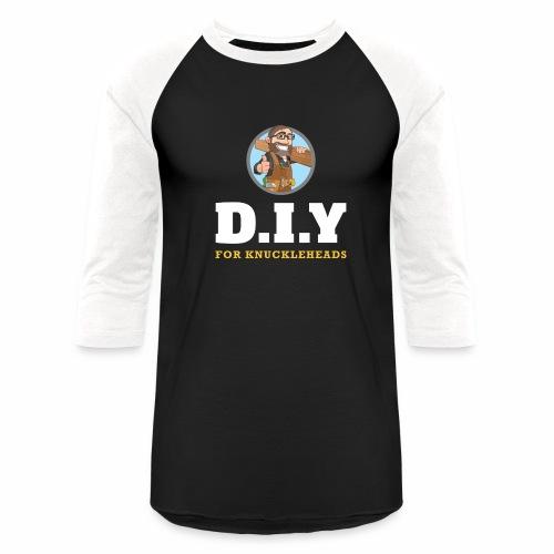 DIY For Knuckleheads Logo. - Baseball T-Shirt