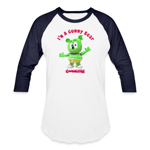 I'm A Gummy Bear - Baseball T-Shirt