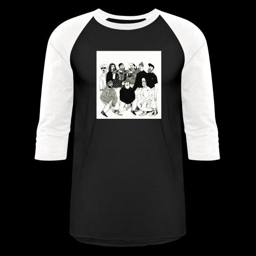 The DBD Show EP Cover Art - Baseball T-Shirt