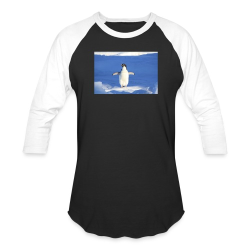 Mr. Penguin - Baseball T-Shirt