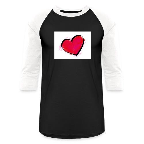 heart 192957 960 720 - Baseball T-Shirt