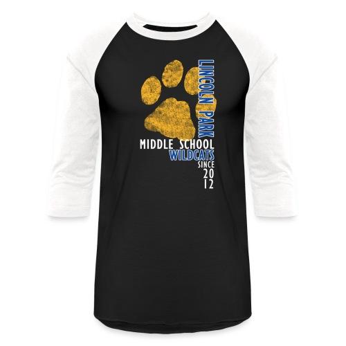 LPMS Vertical - Unisex Baseball T-Shirt