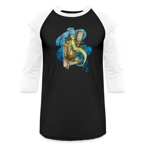 Alien merman - Baseball T-Shirt