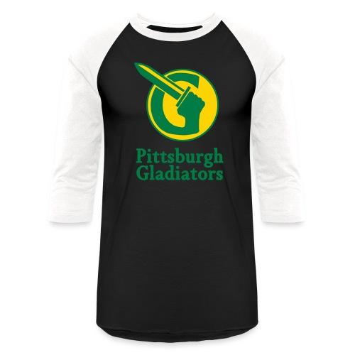 glads2 - Unisex Baseball T-Shirt