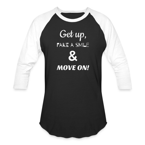 MOVE ON LYRICS FULL SIZE - Unisex Baseball T-Shirt