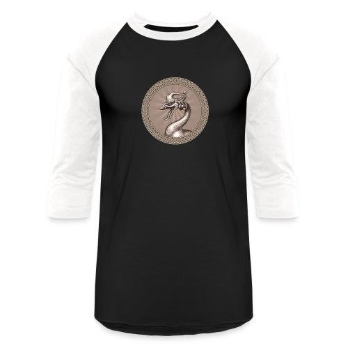Laughing Dragon - Unisex Baseball T-Shirt