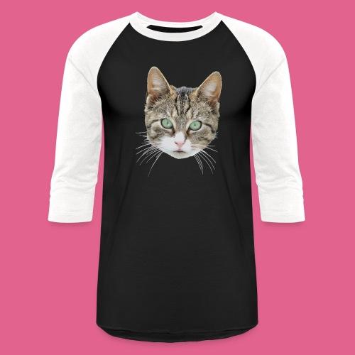 cathead color Edited - Baseball T-Shirt