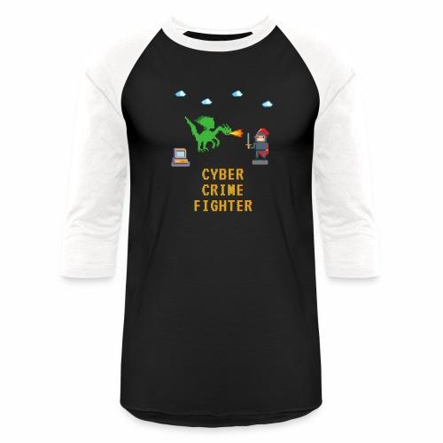 Cyber Crime fighter - Unisex Baseball T-Shirt