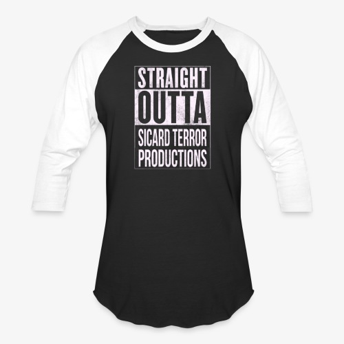 Strait Out Of Sicard Terror Productions - Baseball T-Shirt