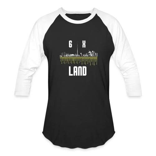 6ixland Logo - Baseball T-Shirt