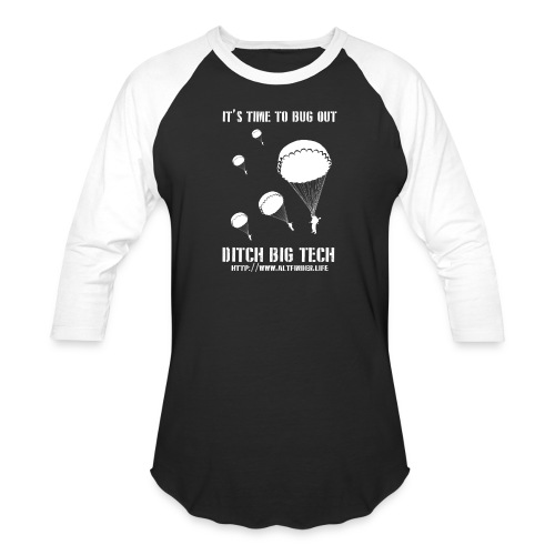 It's Time To Bug Out - Unisex Baseball T-Shirt