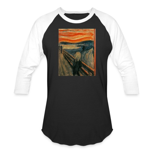 The Scream (Edvard Munch) - Baseball T-Shirt