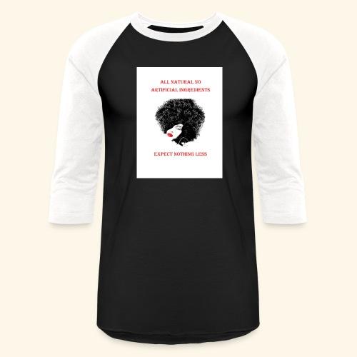 Afro - Baseball T-Shirt